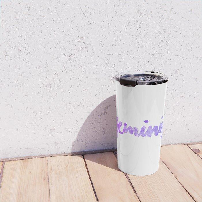 FEMINISM Travel Mug