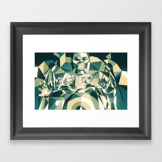A Team Framed Art Print