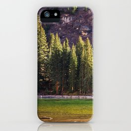 River in the Valley iPhone Case