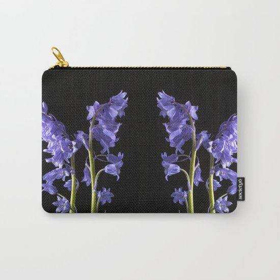 Bluebells, From the very Woods I Created! Carry-All Pouch