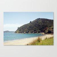 new zealand Canvas Prints featuring New Zealand by mylijeko