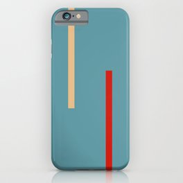 Abstract Classic Stripes Mirian iPhone Case