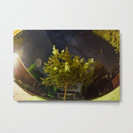 The Tree and the Stars Metal Print