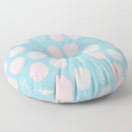Pastel Brains Pattern Floor Pillow