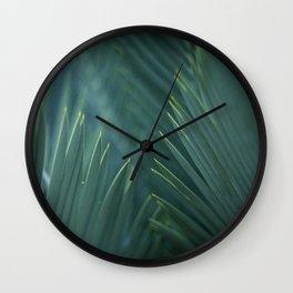 Tree Fern Wall Clock