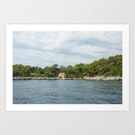 Lokrum Dubrovnik 4 Art Print