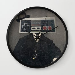 Faces of the Past: Controller Wall Clock