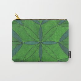 Mandala In the Forest Carry-All Pouch