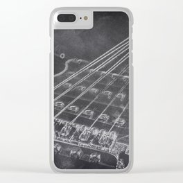 Stratocaster Clear iPhone Case