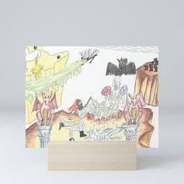 Santos Zapatos (Dreamscape) Mini Art Print
