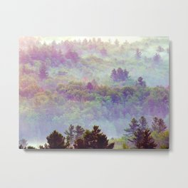rainbow dawn Metal Print