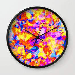 LOVE in May ~remix-energicRed~ Wall Clock