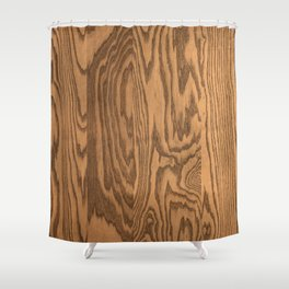Wood 4 Shower Curtain