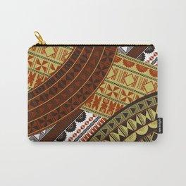 UrbanNesian Fijian Masi Carry-All Pouch