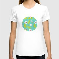 hibiscus T-shirts featuring Hibiscus by Maya Bee Illustrations