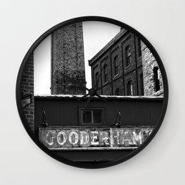 Distillery District Wall Clock