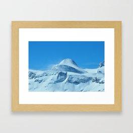 The imposing peak of Gjaidstein, Austria Framed Art Print