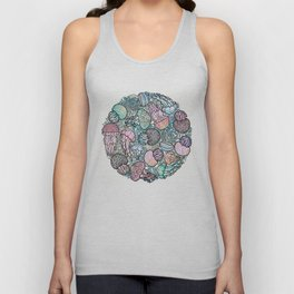 Jellyfishes Unisex Tank Top