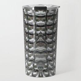 Metallnna Abstract Travel Mug