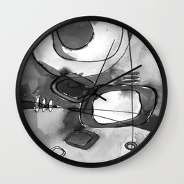 Magical Thinking No. 2O by Kathy Morton Stanion Wall Clock