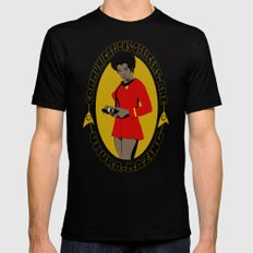 Uhura-mazing SMALL Black Mens Fitted Tee