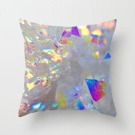 Angel Aura Throw Pillow