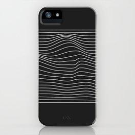 Minimal Square Warp iPhone Case