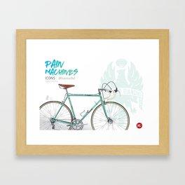 Pain Machines - Celeste Framed Art Print