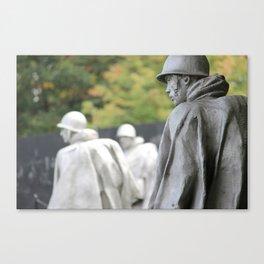 Korean War Memorial II Canvas Print