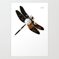Libellule Jacob's 1968 fashion Paris Art Print