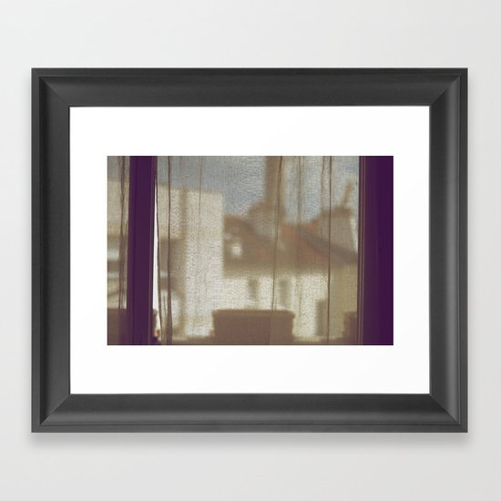 Au Petit Matin Framed Art Print