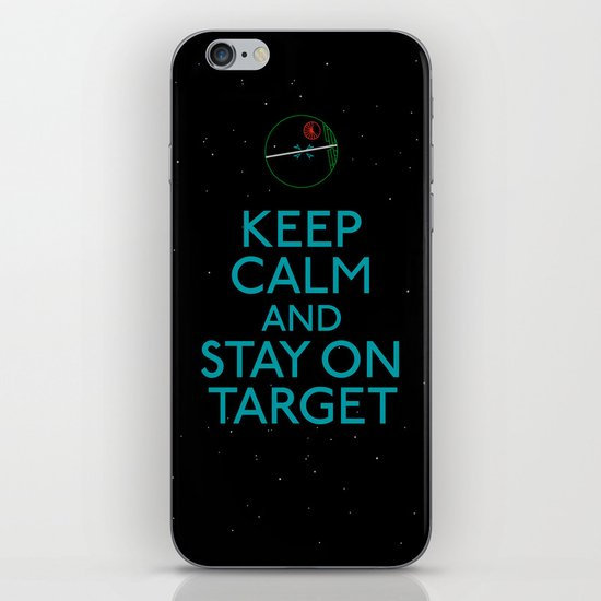 Stay on target iPhone & iPod Skin