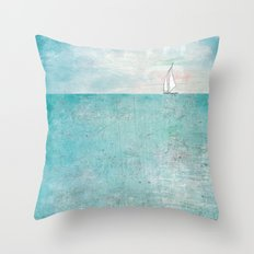 Boat (variation) Throw Pillow