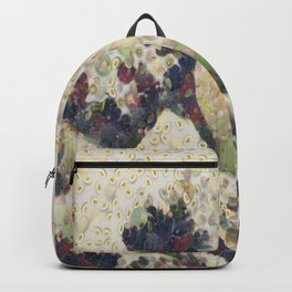 The Great Wave Of Honeydew Melon After Hokusai Backpack