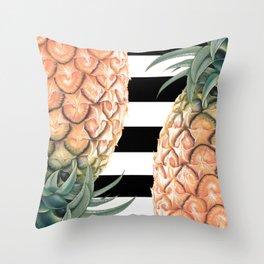 No More Apple! Throw Pillow