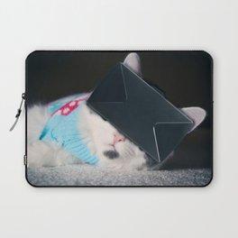Virtual Reality Kitty Cat Laptop Sleeve