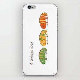 changing chameleon iPhone Skin