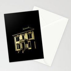 Alone at Full Moon Stationery Cards