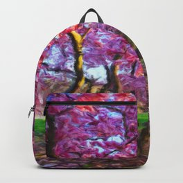Dance of the Cherry Tree Blossoms Backpack