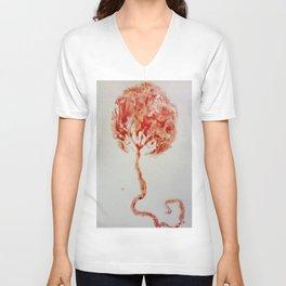 Tree of Life: The Placenta Unisex V-Neck