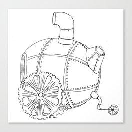 Steam Trike Canvas Print