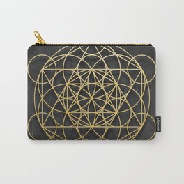 Merkaba Carry-All Pouch