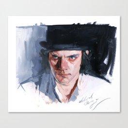 Malcolm McDowell Canvas Print