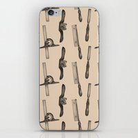 tool iPhone & iPod Skins featuring Tool Pattern by Jessica Roux