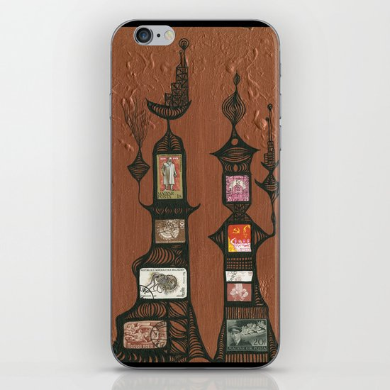 I Love You, Hundertwasser #5 iPhone & iPod Skin