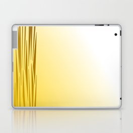 Wild lines on gold. Tiger lines Laptop & iPad Skin