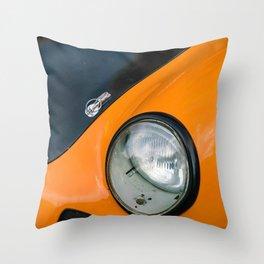 vintage german racing car Throw Pillow