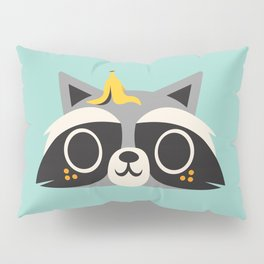 Trash Panda / Raccoon / Cute Animal Pillow Sham
