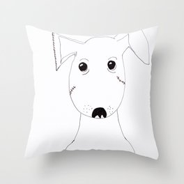 Hard Luck Henry Throw Pillow