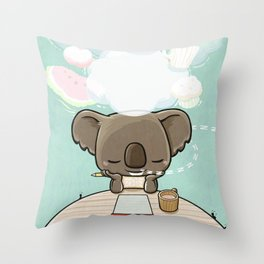 Hungry Dream Throw Pillow